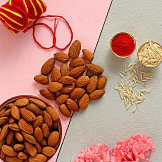 Almond Crunch Bhai Dooj: Send Bhai Dooj Gifts to USA