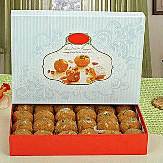 Besan Ladoo 400 Grams: Send Sweets to USA