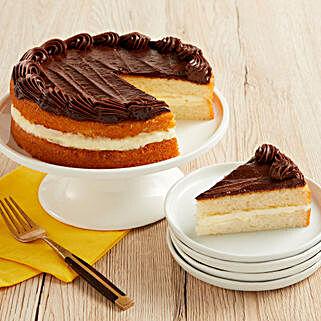 Boston Cream Cake: Cake Delivery in New Jersey