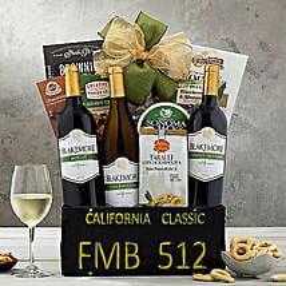 California Classic Gift Basket: Christmas Gift Baskets USA