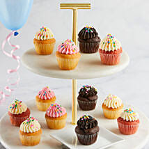 CRUMBS Mini Birthday Cupcakes: Cake Delivery in USA