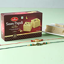 Designer Rakhi And Sweets Hamper: Rakhi Delivery in USA