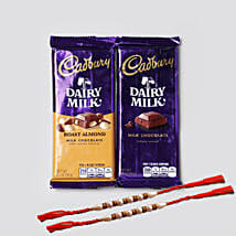 Designer Rakhis And Cadbury Combo: Send Rakhi to Houston
