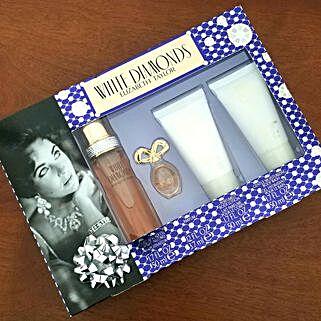 Elizabeth Taylor Gift Set: Rakhi Gifts for Sister in USA