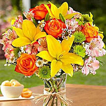 Fields of Europe for Summer: Same Day Anniversary Flowers for USA