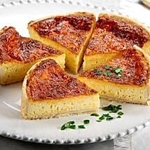 Four Cheese Quiche: Send New Year Cakes to USA