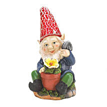 Gardening Gnome Solar Statue: Send Thank You Gifts to USA
