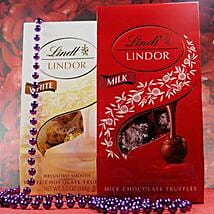 Lindt Lindor Milk N White Chocolates: Women's Day Gift Delivery in USA