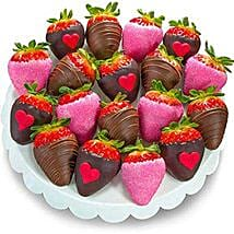 Love Dipped Strawberries: Valentine's Day Gifts to Baltimore
