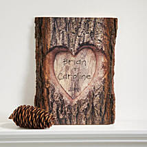 Lovely Personalised Basswood Plank: Personalized Gifts to USA