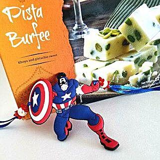 Pista Barfi And Superhero Rakhi: Send Rakhi to USA