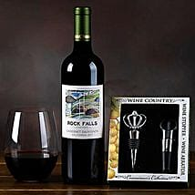 Rock Falls Vineyards Cabernet Gift Set: Gifts for Anniversary in USA