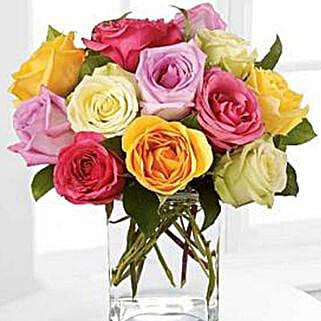 Rose Fest Arrangement: Rose Day Gift Delivery in USA