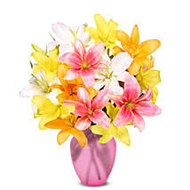 Stunning Lily Bouquet: Send Lilies to USA