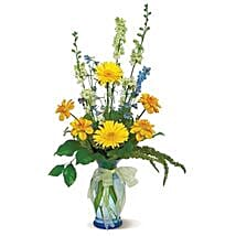 Sunny Skies: Just Because Flowers in USA