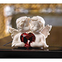 Two In Love Cherub Figurine: Send Anniversary Gifts to USA