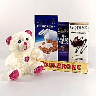 Valentine Love: Send Soft Toys to USA