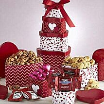 Valentine Sweets Tower: Valentine's Day Gifts to Dallas