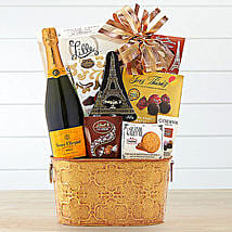Veuve Clicquot Gift Basket: Gift Delivery for Her in USA